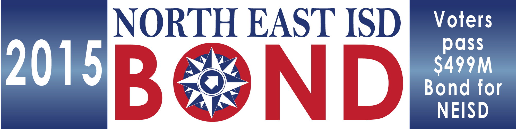 North East ISD 2015 Bond - Voters pass $499 Million Bond