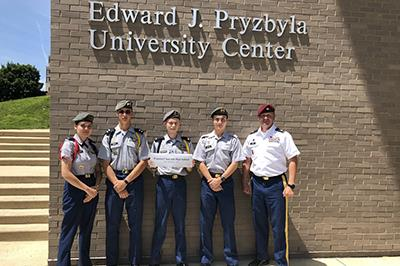 Churchill cadets finish 7th at JLAB Army Nationals