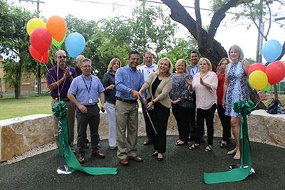 Ribbon is cut at park opening