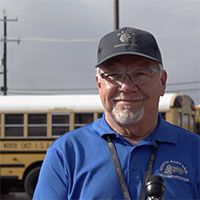 Retired engineer shares why he joined NEISD's bus driving team