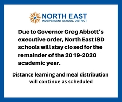 NEISD schools closed for remainder of academic year