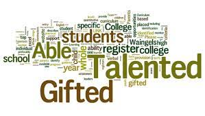 Gifted and Talented Word Art