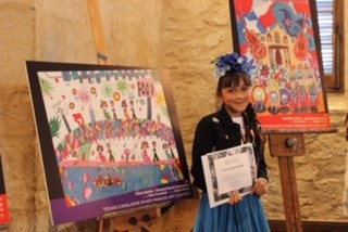 Congratulations Olivia on winning the River Parade Art Contest!