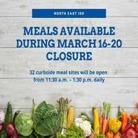 Meals Available March 16-20