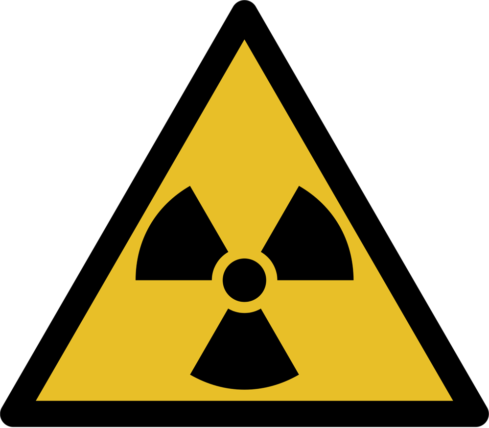 yellow and black warning/caution sign