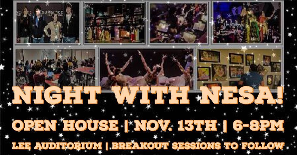 Night with NESA Tuesday 11/13